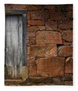 Doors And Windows Minas Gerais State Brazil 3 Fleece Blanket