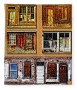 Doors And Windows Fleece Blanket