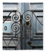 Doors And Windows Salvador Brazil 2 Fleece Blanket
