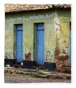 Doors Of Alcantara Brazil 4 Fleece Blanket