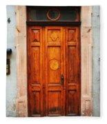 Doors Of Europe Fleece Blanket