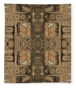 Doors Of Zanzibar Allspice Fleece Blanket