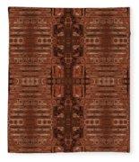 Doors Of Zanzibar Clove Fleece Blanket