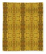 Doors Zanzibar Saffron Fleece Blanket