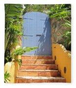 Doorway To Paradise Fleece Blanket