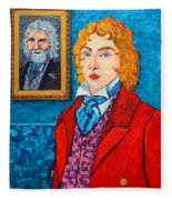 Dorian Gray Fleece Blanket