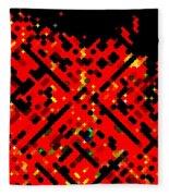 Dot Invasion Fleece Blanket