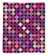 Dots Fleece Blanket