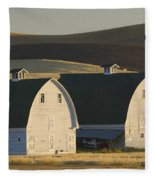 Double Barns Fleece Blanket