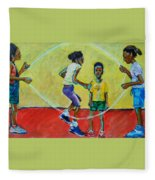 Double Dutch Fleece Blanket