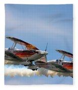 Double Iron Eagles Fleece Blanket