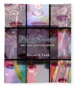 Double Take Art Collection Fleece Blanket