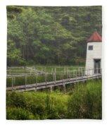Doubling Point Range Lights Fleece Blanket
