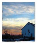 Dougherty Barn Fleece Blanket