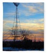 Dougherty Windmill Fleece Blanket