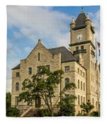 Douglas County Courthouse 2 Fleece Blanket