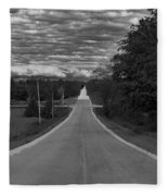 Down A Country Road Fleece Blanket