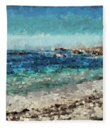 Down By The Sea 2 Fleece Blanket