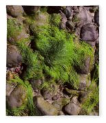 Down By The Seaside Fleece Blanket