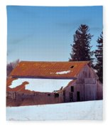 Down In The Valley Fleece Blanket