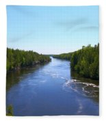 Down River Fleece Blanket