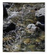 Down The River Fleece Blanket