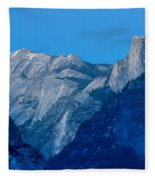 Down The Valley Yosemite Fleece Blanket
