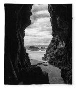Downhill Cave Fleece Blanket