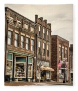 Downtown Jonesborough Fleece Blanket