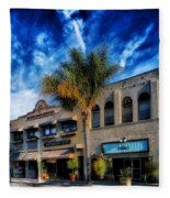 Downtown Ventura Fleece Blanket