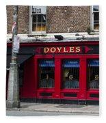 Doyles The Times We Live Inn - Dublin Ireland Fleece Blanket