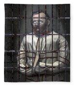 Dr. Lecter Restrained Fleece Blanket