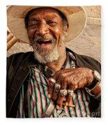 Dr. Luv New Orleans Fleece Blanket