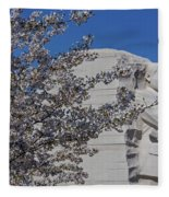 Dr Martin Luther King Jr Memorial Fleece Blanket