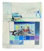 Draaimolen Fleece Blanket