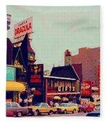 Dracula Castle Tussaud Wax Museum Niagara Falls Ontario Attractions Vintage Art C Spandau Paintings Fleece Blanket