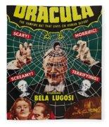 Dracula II Fleece Blanket
