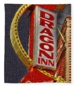 Dragon Inn Restaurant  Fleece Blanket