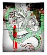 Dragon Inverted Fleece Blanket