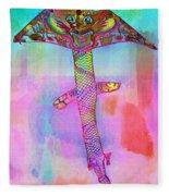 Dragon Kite Fleece Blanket