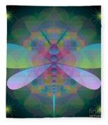 Dragonfly 2013 Fleece Blanket
