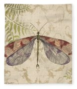 Dragonfly Daydreams-d Fleece Blanket