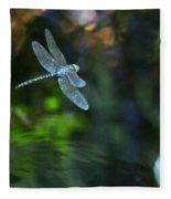 Dragonfly No 1 Fleece Blanket