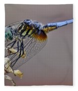 Dragonfly Stance Fleece Blanket