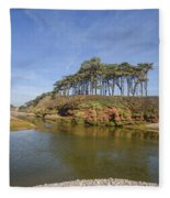 Dragons Back Budleigh Salterton Fleece Blanket