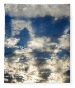 Drama Cloud Sunset I Fleece Blanket