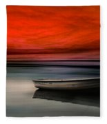Drama Lake Fleece Blanket