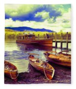 Dramatic Derwent Fleece Blanket