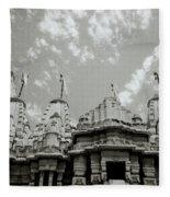 The Jain Temples Fleece Blanket