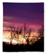 Dramatic Sunrise-l Fleece Blanket